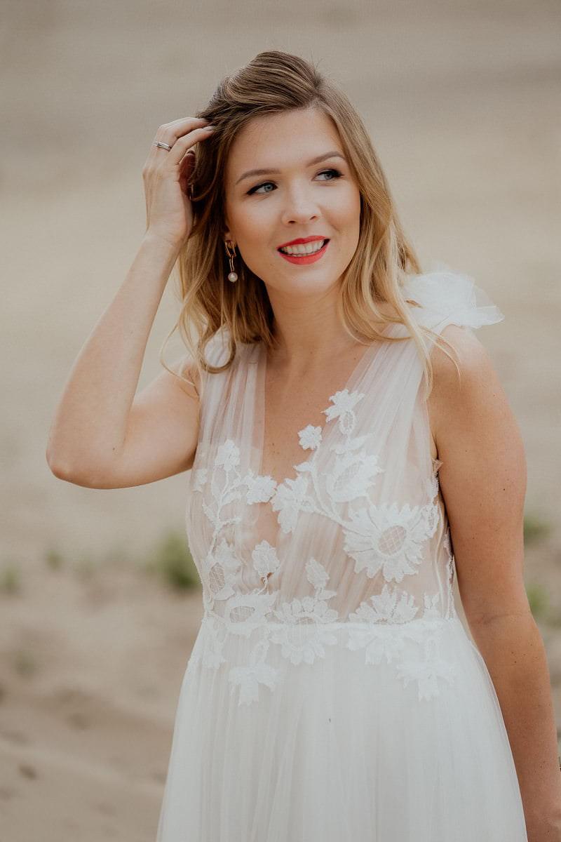 Sesja ślubna na pustyni